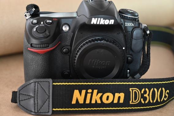 Camera Nikon D300s, Impecável, Com 24.746 Cliques!
