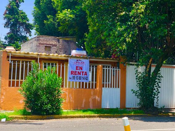 Casa Una Planta En La Nueva Iztacala