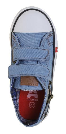 Zapatillas Addnice Moda Vulcan Zip Abrojo Az