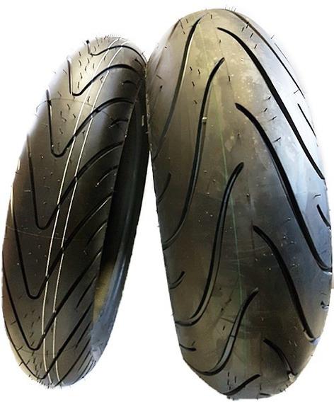 Par Pneu 120/70-17 + 190/50-17 Michelin Pilot Road 2 Radial