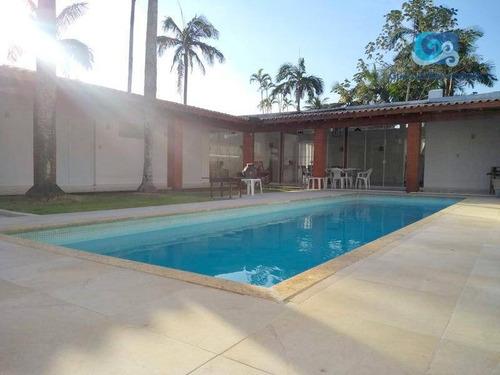 Imagem 1 de 17 de Casa À Venda No Jardim Virginia, Praia Da Enseada - Guarujá. - Ca1788