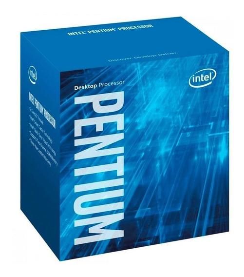 Processador gamer Intel Pentium G4500 BX80662G4500 de 2 núcleos e 3.5GHz de frequência com gráfica integrada