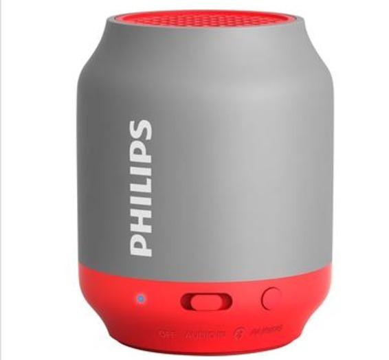Caixa De Som Philips Bluetooth 2w Rms Bt50gx/78