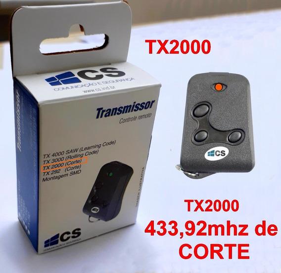 Controle Remoto Tx2000 433mhz De Corte
