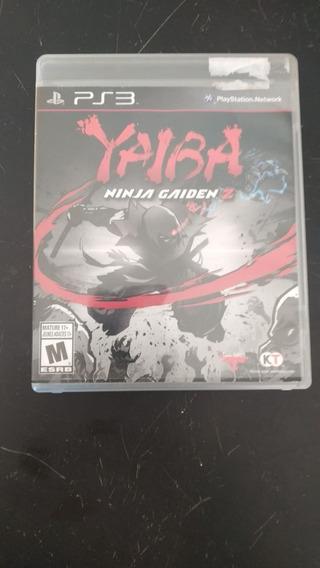 Ninja Gaiden Yaiba Ps3 (frete 15 Reais)