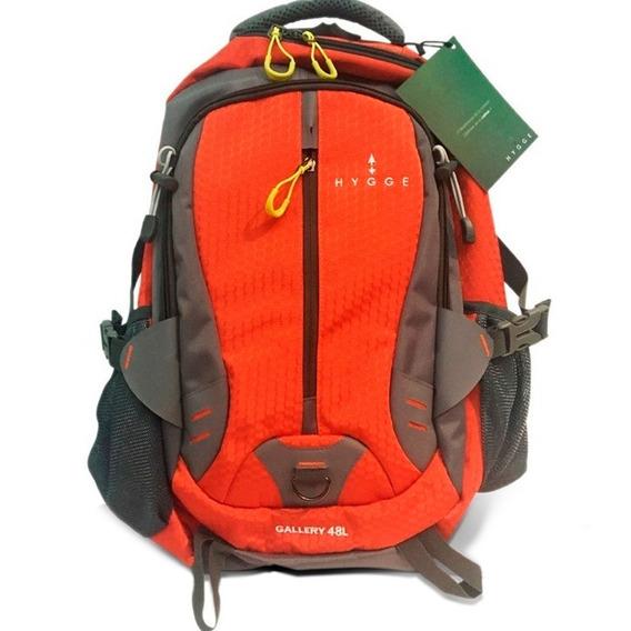 Mochila Trekking Montaña Camping Mochilero 48 Litros Full