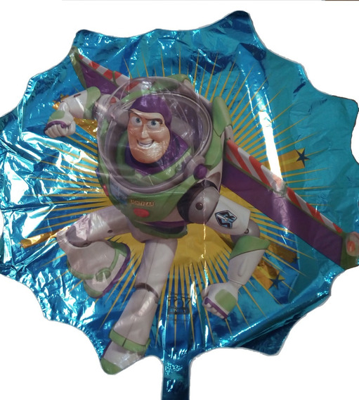 Toy Story Buzz & Woody 1 Globo Metalico Helio 45 Cms Disney