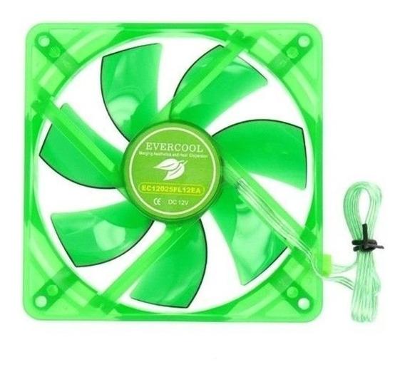 Fan Cooler 120mm 12cm 12v Evercool Gabinete