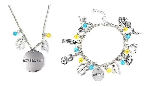 Winssi Riverdale Bracelets Charms And Riverdale Necklace For