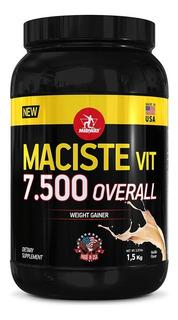 Hipercalórico Maciste Vit Overall 7500 1,5 Kg - Midway