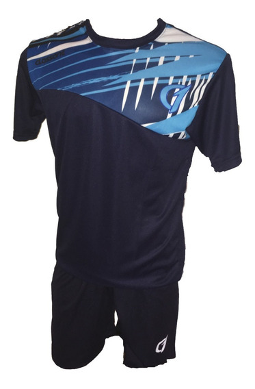 Conjunto Remera Short Dry Fit Tenis Paddle Class One Deport