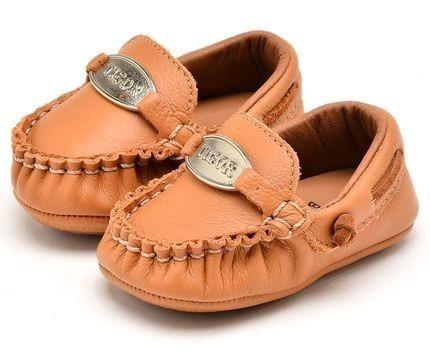 Mocassim Tigor Baby Caramelo 10205743