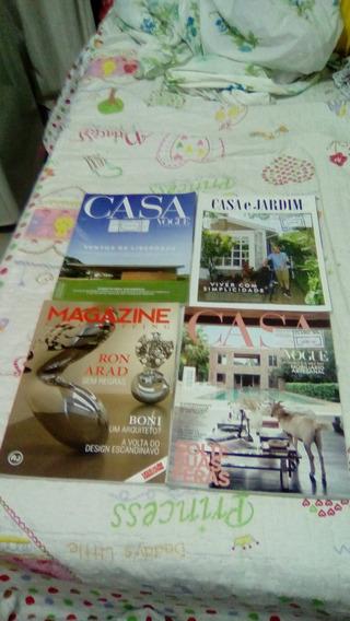 Revista Casa E Casa E Jardim 05 Unidades