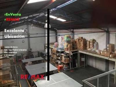 San Pedro Iztacalco Bodega Comercial En Venta