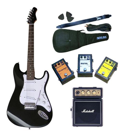 Guitarra Electrica + Ampli Marshall Ms2 + Pedal A Eleccion