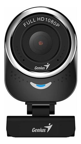 Cámara Web Genius Qcam 6000 Full Hd 1080 Con Micrófono
