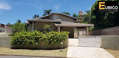 Linda Casa Térrea Para Venda Ou Aluguel No Condomínio Marambaia Na Cidade De Vinhedo - Ca01292 - 33590495
