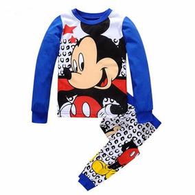 2d6a61c72 Pijama Malha 2 Peças Importado Menino Menina Disney Original