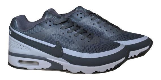 Kp3 Zapatos Caballeros Nike Air Max 90w Gris Blanco Solo 40