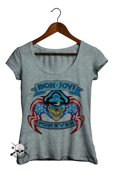 Remeras De Mujer - Bon Jovi #14 - Forever Y Mas Modelos!