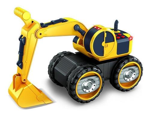 Carro De Juguete Excavadora De Construccion Con Luces Y Soni