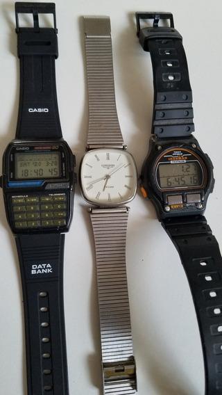 Lote De 3 Relojes 2 Casio Y Otro