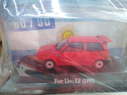 Autos Inolvidables Argentinos 80/90 Nro 20 Fiat Uno Ef 1990