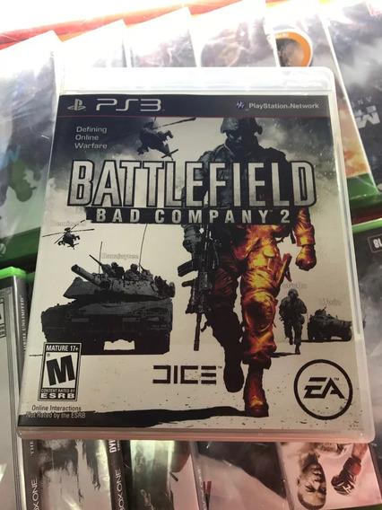 Battlefield Bad Company 2 Original Ps3 Midia Fisica Lacrado