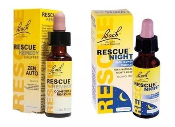 Pack Rescue Remedy Día Y Noche Zen Flores De Bach