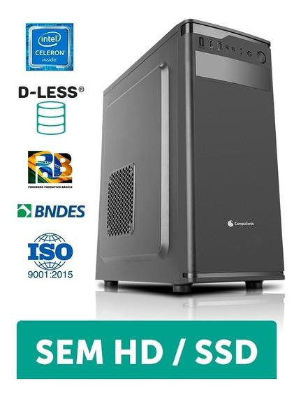 Computador Compusonic (j3060 / 4gb Ddr3 / D-less / 230w)