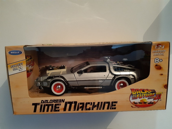 Welly - De Lorean - Time Machine - Back To The Future 3 -