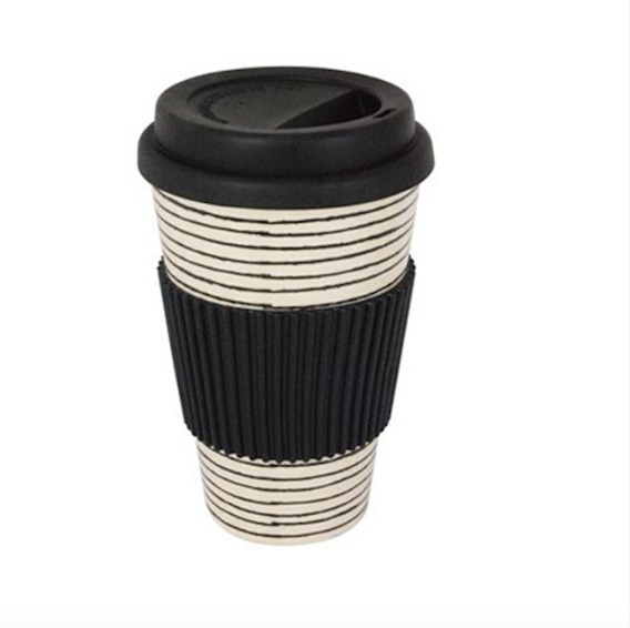 Vaso Térmico De Cafe De Fibra Bamboo Diseños