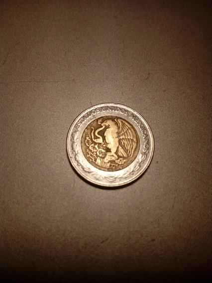 Moneda Mexicana 1992 $2 Pesos Nuevos