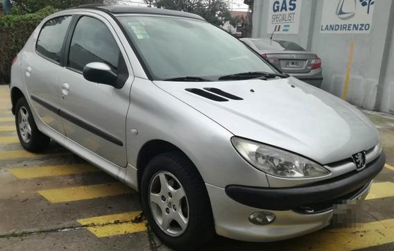 Peugeot 206 1.6 Xt Premium 2006 Gris 5ptas Con Techo