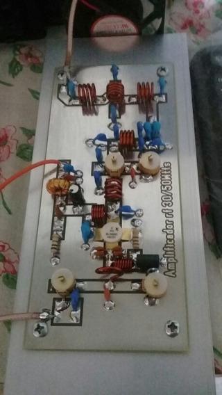 Amplificador De Rf 40/50wattsp/ Pll Fm 7watts 87.5/108