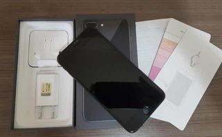 iPhone 7 Plus Preto 128gb + Cx E Acessórios - Pronta Entrega