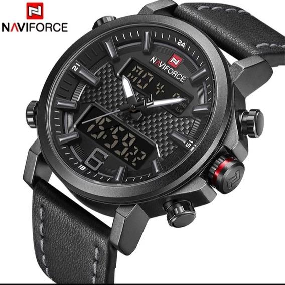 Relógio Sport Naviforce Modelo Europeu Moderno Estiloso 2020