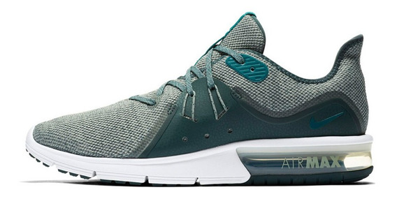Tenis Nike Air Max Sequent 3 Hombre Turquesa 921694-302