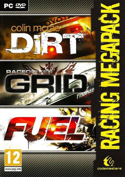 Dirt, Grid, Fuel Racing Megapack
