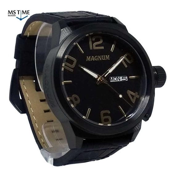 Relógio Magnum Masculino Analógico Grande Militar Ma33399p