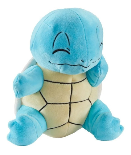 Imagem 1 de 4 de Pelúcia Pokémon Figura Squirtle 21cm - Wct Sunny Licenciada