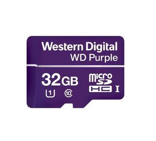 Western Wdd032g1p0a- Memoria De 32gb Micro Sdhc Purple