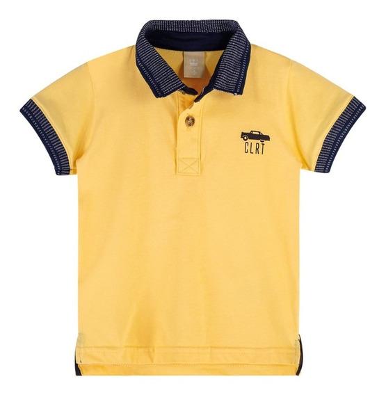 Camisa Polo Infantil Colorittá Masculina