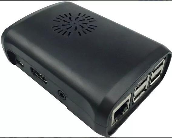 Kit Raspberry Pi3 B, Fonte, Case, Dissipadores E Hdmi