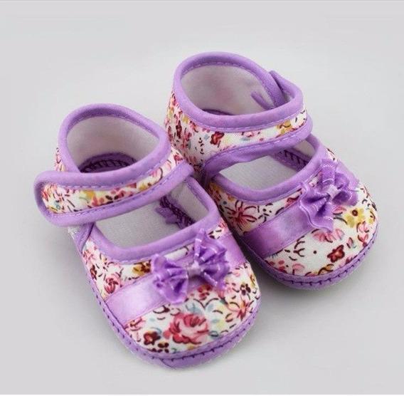 Sapatinho Bebê Menina Importado Novo