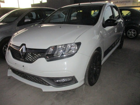 Renault Sandero Rs, Std, A/c, Color Blanco Glaciar, Mod 2017