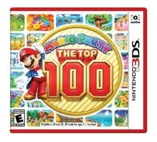 Mario Party The Top 100 - Juego Físico 3ds - Sniper Game