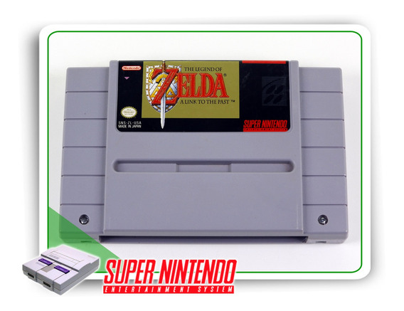 The Legend Of Zelda A Link To The Past Orig. Super Nintendo