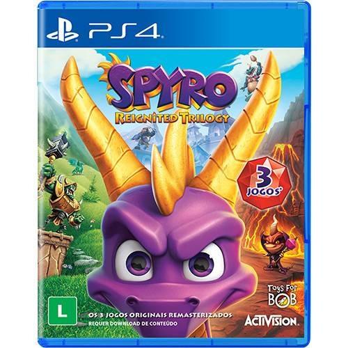 Spyro Reignited Trilogy - Ps4 Mídia Física Rcr Games