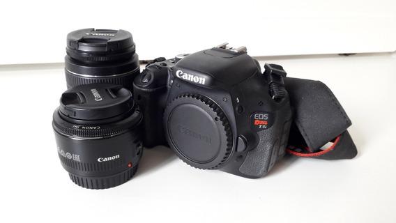 Kit Camera Canon T3i + Lentes + Case
